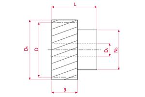 Spur Gears GEARflex - Module 2