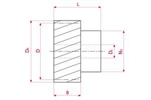 Spur Gears GEARflex - Module 4