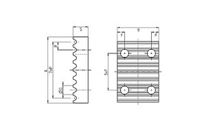 Clamping Plate - Open Length - AT