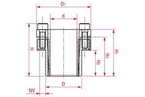 Locking Assemblies - Stainless steel - GG 13